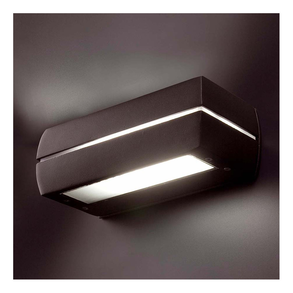 Applique d 39 ext rieur alu ip65 lampe avenue for Luminaire exterieur ip65