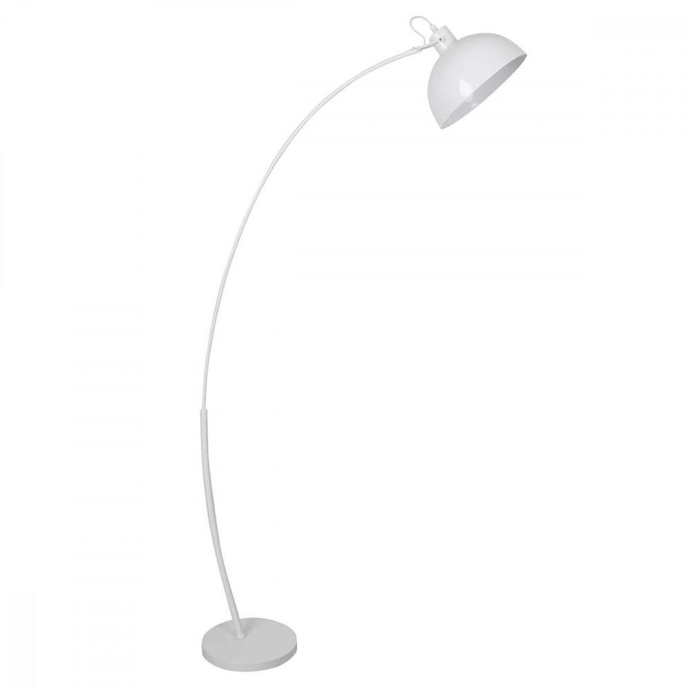 Lampadaire arc en m tal blanc vente sur lampe avenue - Lampadaire arc blanc ...